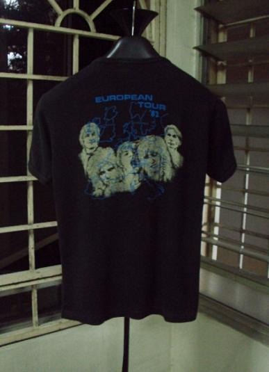 VINTAGE 1982 THE ROLLING STONES T-SHIRT