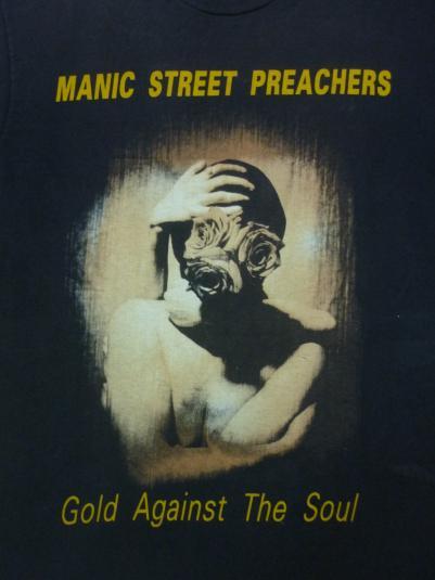 VINTAGE EARLY 90S MANIC STREET PREACHERS T-SHIRT