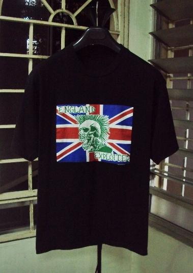 VINTAGE 1990 THE EXPLOITED T-SHIRT