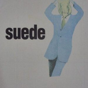 VINTAGE 1993 SUEDE T-SHIRT