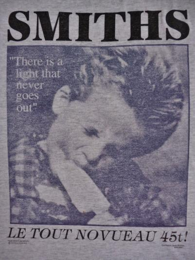 Vintage The Smiths The Light That Never Goes out T-Shirt