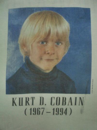 VINTAGE KURT COBAIN RIP 1994