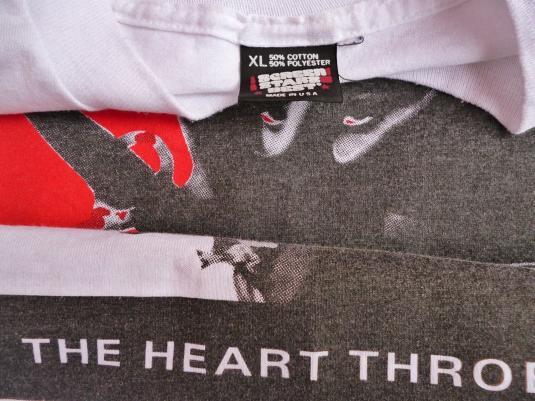 VINTAGE 1990 THE HEART THROBS 'CLEOPATRA' US TOURT-SHIRT