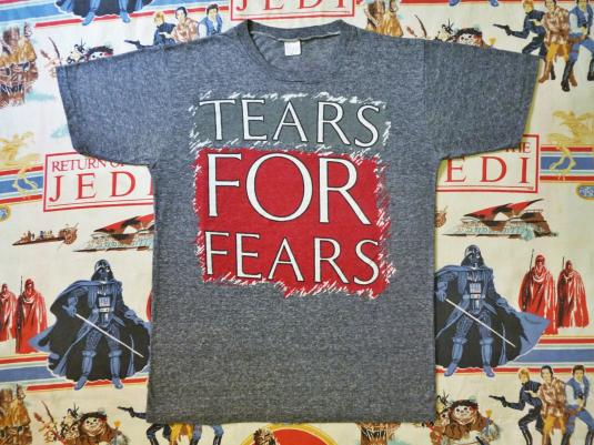 VINTAGE 1984 TEARS FOR FEAR T-SHIRT