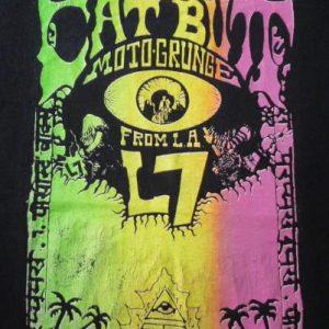 VINTAGE 1989 CAT BUTT & L7 MOTOGRUNGE SUBPOP TOUR T-SHIRT