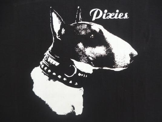VINTAGE 1987 THE PIXIES COME ON PILGRIM T-SHIRT