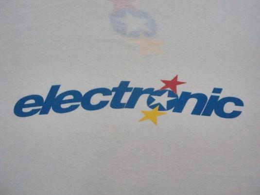 VINTAGE 1991 ELECTRONIC T-SHIRT