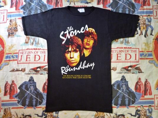 VINTAGE 1982 THE ROLLING STONES CONCERT T-SHIRT