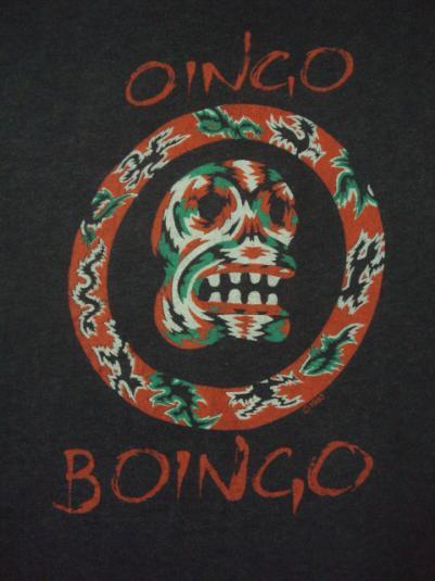 VINTAGE OINGO BOINGO NEW WAVE PUNK PROMO 1983