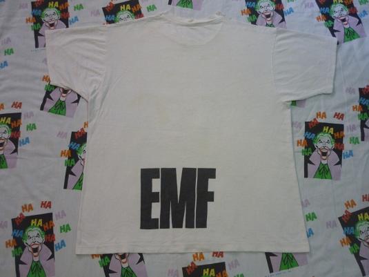 VINTAGE 1990 EMF UNBELIEVABLE T-SHIRT