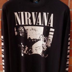 VINTAGE 1989 NIRVANA BLEACH T-SHIRT