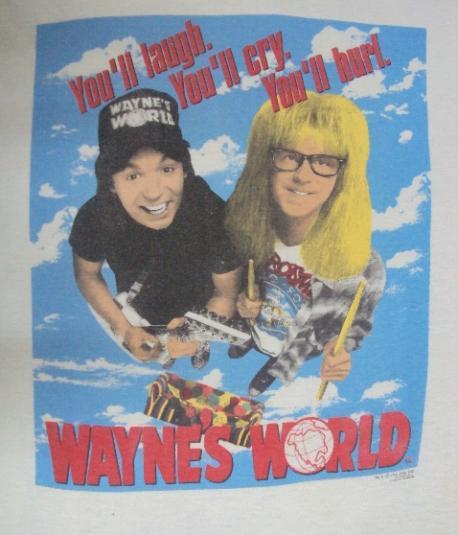 VINTAGE WAYNE'S WORLD T-SHIRT