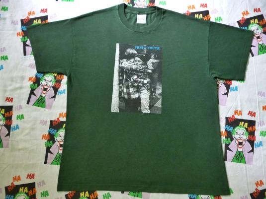 VINTAGE SONIC YOUTH DANCING KIDS T-SHIRT