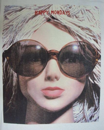 VINTAGE 1991 HAPPY MONDAYS T-SHIRT