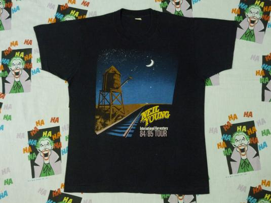 VINTAGE 1984 NEIL YOUNG T-SHIRT