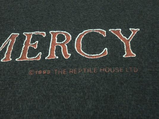 VINTAGE SISTERS OF MERCY OVERBOMBING TOUR T-SHIRT