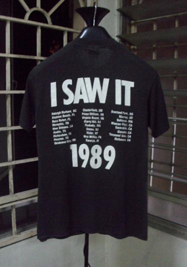 VINTAGE 1989 MTV TOUR T-SHIRT
