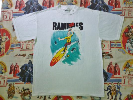 VINTAGE THE RAMONES ADIOS AMIGOS T-SHIRT