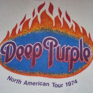 VINTAGE 1974 DEEP PURPLE T-SHIRT