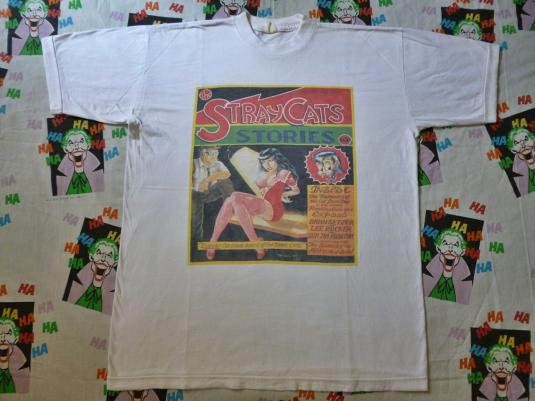VINTAGE THE STRAYCATS T-SHIRT