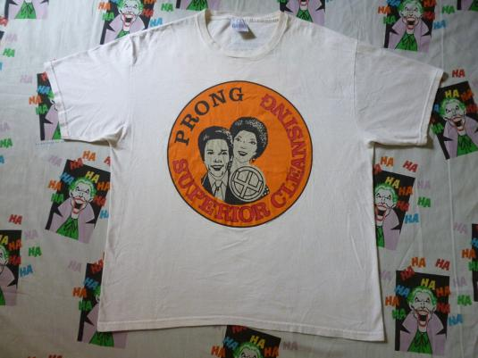 VINTAGE 90S PRONG SUPERIOR CLEANSING T-SHIRT
