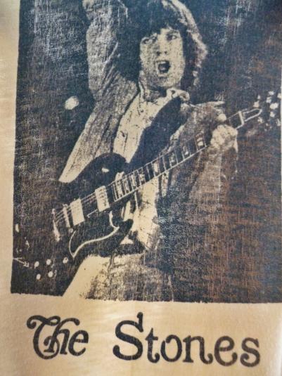 VINTAGE 1981 THE STONES T-SHIRT