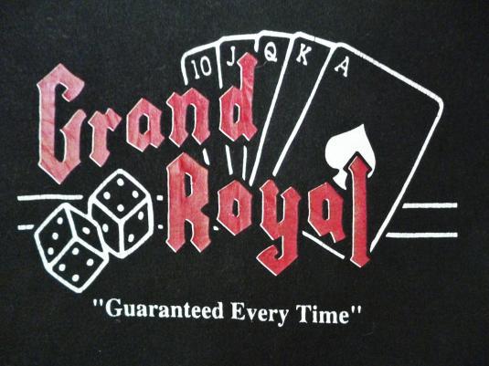 VINTAGE GRAND ROYAL RECORDS T-SHIRT