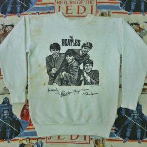 Antique 1963 THE BEATLES Sweatshirt