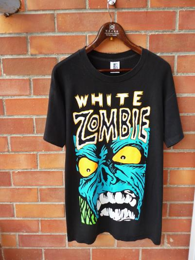 VINTAGE EARLY 90S THE WHITE ZOMBIE T-SHIRT