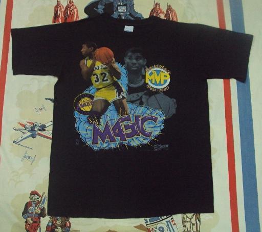 1989 MAGIC JOHNSON LA LAKERS