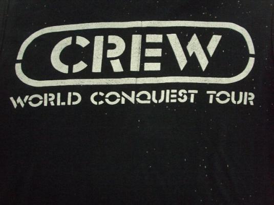 VINTAGE 1982 TED NUGENT CREW T-SHIRT