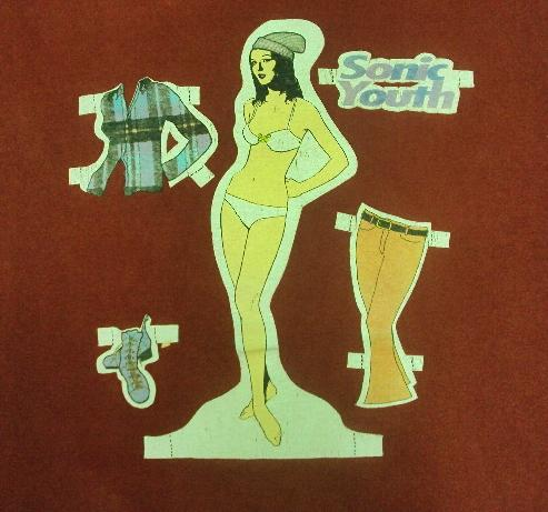 VINTAGE 90'S SONIC YOUTH T-SHIRT