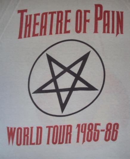 VINTAGE MOTLEY CRUE ALLISTER FIEND 1985 TOUR RARE