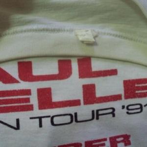 VINTAGE 1991 PAUL WELLER T-SHIRT