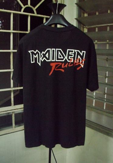 VINTAGE 90'S IRON MAIDEN T-SHIRT