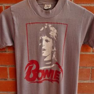 VINTAGE 1970's DAVID BOWIE T-SHIRT