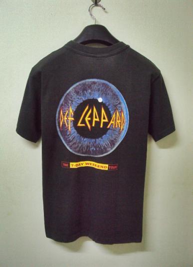VINTAGE 1992 DEF LEPPARD TOUR T-SHIRT