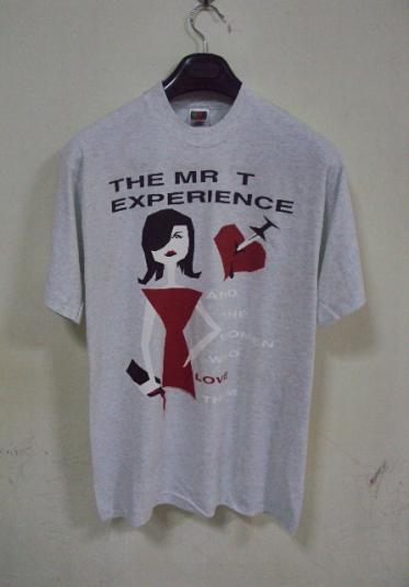 VINTAGE THE MR.T EXPERIENCE PROMO VINTAGE