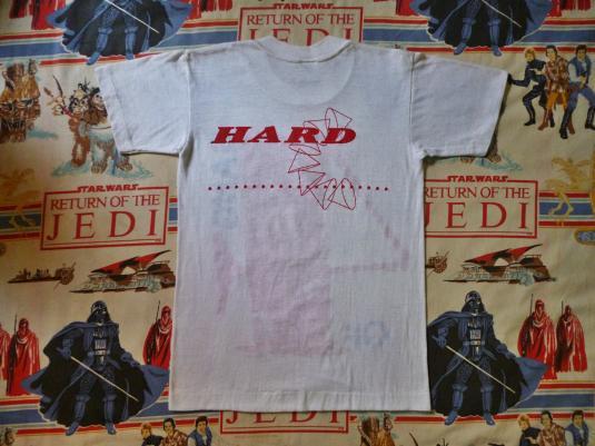 VINTAGE 1983 GANG OF FOUR HARD T-SHIRT