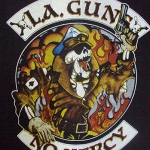 VINTAGE 1988 LA GUNS TOUR T-SHIRT