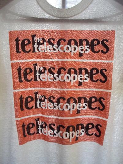 VINTAGE 1989 THE TELESCOPES T-SHIRT