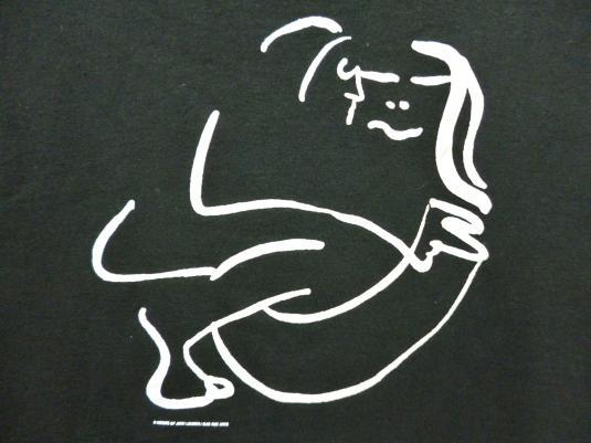 VINTAGE JOHN LENNON BAG ONE ARTS T-SHIRT
