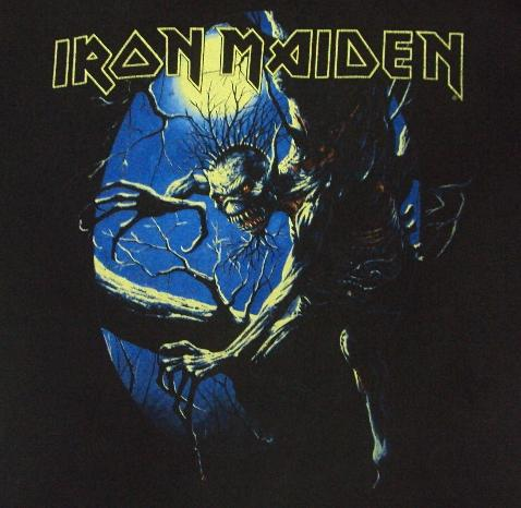 VINTAGE 1992 IRON MAIDEN FEAR OF THE DARK T-SHIRT