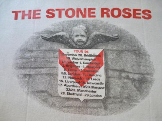 VINTAGE THE STONE ROSES UK TOUR T-SHIRT
