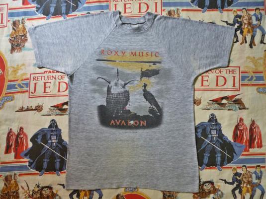 1982 ROXY MUSIC European Tour T-Shirt