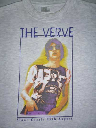 VINTAGE 90S THE VERVE SLANE CASTLE CONCERT T-SHIRT