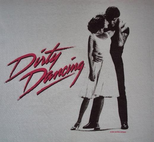 VINTAGE 1988 DIRTY DANCING T-SHIRT