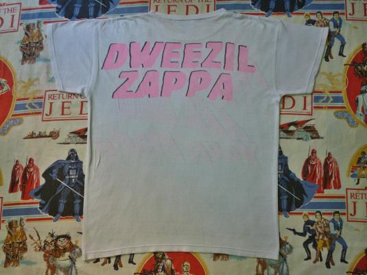 VINTAGE 1988 DWEEZIL ZAPPA T-SHIRT