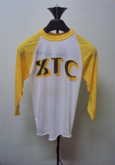 VINTAGE 1981 XTC TOURJERSEY