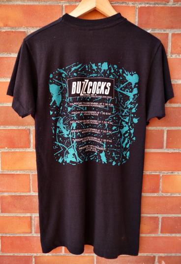 VINTAGE1990 BUZZCOCKS REUNION UK TOUR T-SHIRT